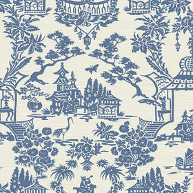 Brian Yates For Wallquest Scenic Damask CH70302