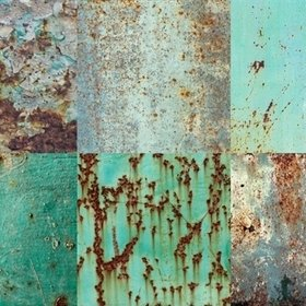 Brian Yates Patchwork Weathered Emerald 143-158203