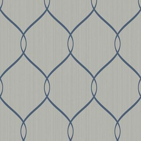 Brian Yates For Wallquest Simple Curve Trellis OA24302