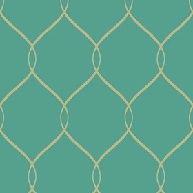 Brian Yates For Wallquest Simple Curve Trellis OA24304