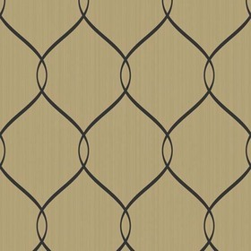Brian Yates For Wallquest Simple Curve Trellis OA24305