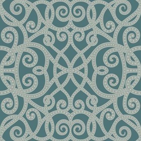 Brian Yates For Wallquest Strapwork Trellis OA24402