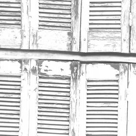 Brian Yates Weathered Wooden French Shutters 143-138882