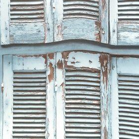 Brian Yates Weathered Wooden French Shutters 143-138884
