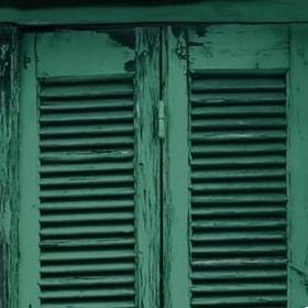 Brian Yates Weathered Wooden French Shutters 143-138885