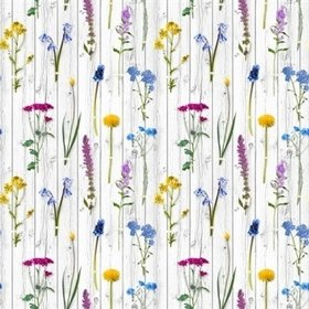 Brian Yates Wildflowers on Wood 143-158828