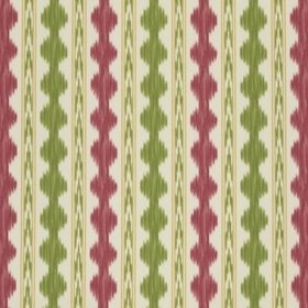 Brunschwig & Fils Avera Print Red-Green 8018120-193