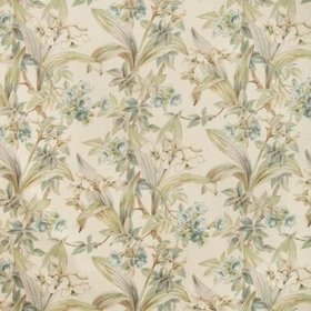 Brunschwig & Fils Daffodil And Vine Aqua 8018117-13