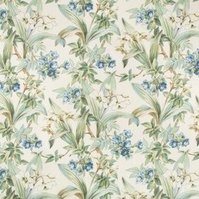Brunschwig & Fils Daffodil And Vine Blue 8018117-5