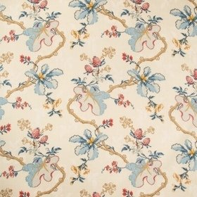 Brunschwig & Fils Fabriano Cotton And Linen Print Cream BR79355-195