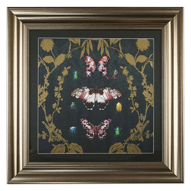 Arthouse Alchemy Butterfly Foiled Framed Print 004757