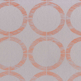 Casadeco Cercles Taupe-Orange EDN80603511
