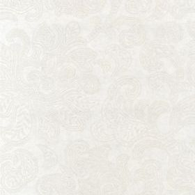 Casadeco Ornement Blanc-Taupe 20631325
