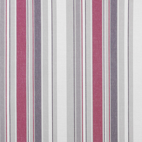 Casadeco Tissu Rayure Framboise WIL28504139