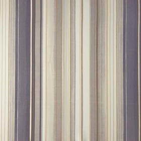 Casadeco Tissu Yellowstone Rayure Taupe Violet Nuit YST25305306
