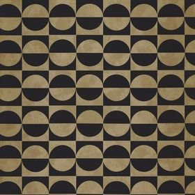 Casamance Circles Noir-Or 74591528