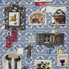 Christian Lacroix Patio Cobalt FCL026-01