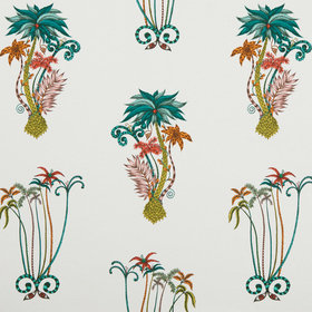 Emma J Shipley For Clarke & Clarke Jungle Palms Jungle F1110-02