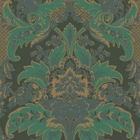 Cole & Son Aldwych Green-Gold 94-5028
