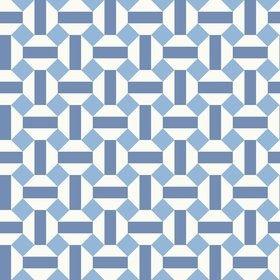 Cole & Son Alicatado Hyacinth-Chalk 117-12037