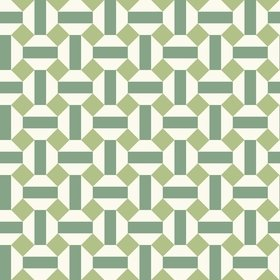 Cole & Son Alicatado Leaf Green-Chalk 117-12038