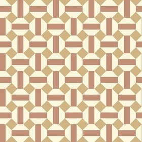 Cole & Son Alicatado Terracotta-Parchment 117-12039