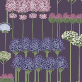 Cole & Son Allium Mulberry-Heather-Violet 115-12036