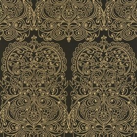 Cole & Son Alpana Gold-Black 69-2105