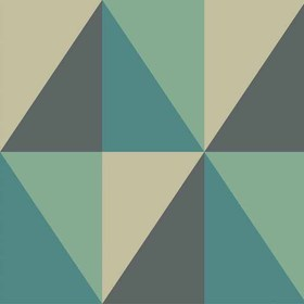 Cole & Son Apex Grand Teal 105-10045