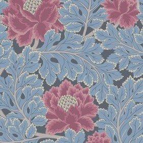 Cole & Son Aurora Cerise-Cerulean Blue-Midnight 116-1004