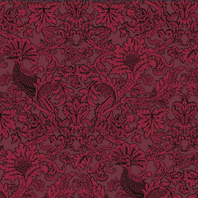 Cole & Son Balabina Velvet Red 108-1004