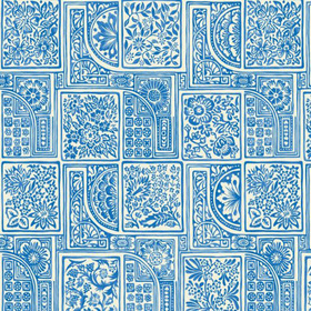 Cole & Son Bellini Blue 108-9045