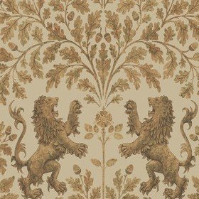 Cole & Son Boscobel Oak Metallic Gold-Oat 116-10037