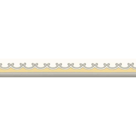 Cole & Son Broderie Border Yellow 99-14056