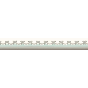 Cole & Son Broderie Border Duck Egg 99-14059