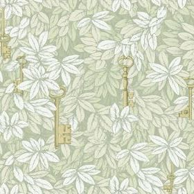 Cole & Son Chiavi Segrete Linen-Gold 97-4012