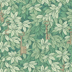 Cole & Son Chiavi Segrete Leaf Green 114-26050