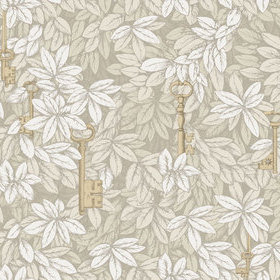 Cole & Son Chiavi Segrete Stone-Gold 114-26052