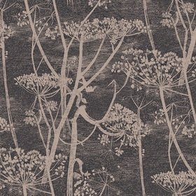 Cole & Son Cow Parsley Black-Gold 66-7048