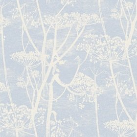 Cole & Son Cow Parsley White-Sky Blue 66-7050