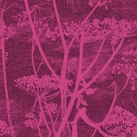 Cole & Son Cow Parsley Velvet Magenta-Plum F111-5017