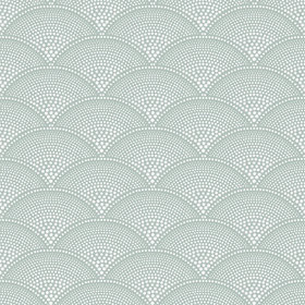 Cole & Son Feather Fan Seafoam 112-10036
