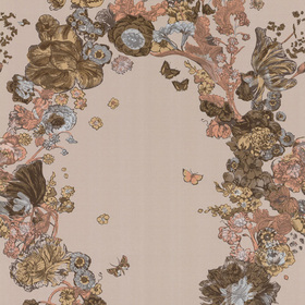 Cole & Son Fiori Stone-Metallic 77-6021