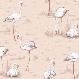 Cole & Son Flamingos 112-11039