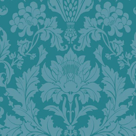 Cole & Son Fonteyn Teal 108-7033