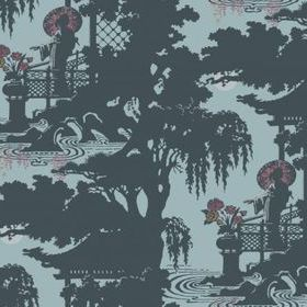 Cole & Son Geisha Blue-Pink 89-6025