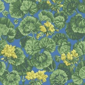 Cole & Son Geranium Lemon-Forest Green-Electric Blue 117-11032