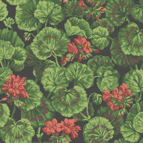 Cole & Son Geranium Rouge-Leaf Green-Black 117-11033