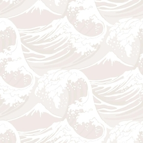 Cole & Son Great Wave Grey-White 89-2006