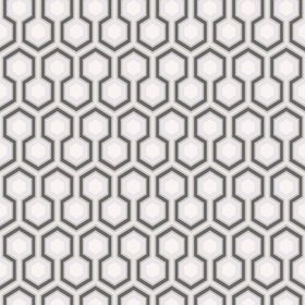 Cole & Son Hicks Hexagon Grey-Charcoal 66-8055